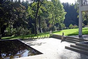Villa Mit Garten Am Waldrand In Augsburg